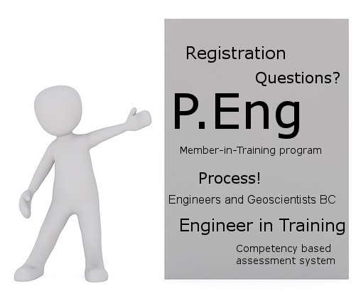 P.Eng. Registration with Engineers and Geoscientists B.C. and the Members in Training Program
